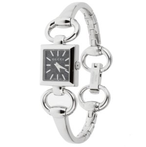 Gucci Gucci Stainless Steel Bangle Watch