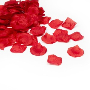 Red 5000x Hot Silk Rose Petals Bridal Party Flower Table Centerpiece Aisle Runner