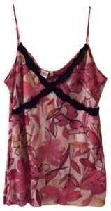 Sweet Pea by Stacy Frati Top Pink/Black Multi