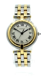 Cartier Ladies CARTIER PANTHER Panthere 18K Gold Stainless Steel Roman Round