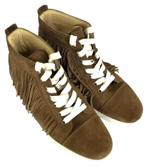 Item - Brown Coachelito Fringed Sneakers Size EU 38 (Approx. US 8) Regular (M, B)