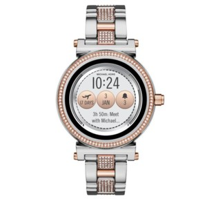 MIchael Kors SEALED! Access Sofie Two-Tone and Pavé Touchscreen Smartwatch MKT5040