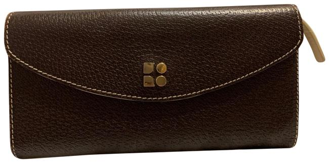 Item - Brown Trifold Continental Wallet