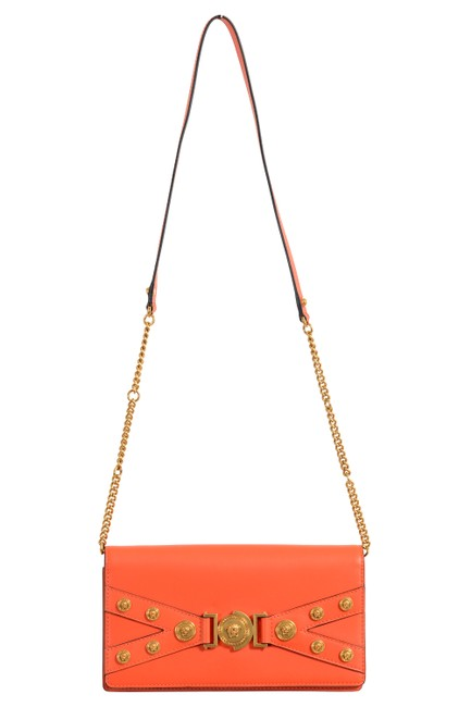 Item - Shoulder Bag Women's Tribute Orange Leather Clutch