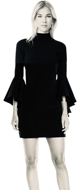 Preload https://img-static.tradesy.com/item/26241515/milly-black-with-flutter-sleeves-short-casual-dress-size-2-xs-0-1-650-650.jpg