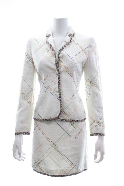 Preload https://img-static.tradesy.com/item/26241584/moschino-white-cheap-and-chic-multicolor-blazer-and-skirt-suit-size-6-s-0-0-650-650.jpg
