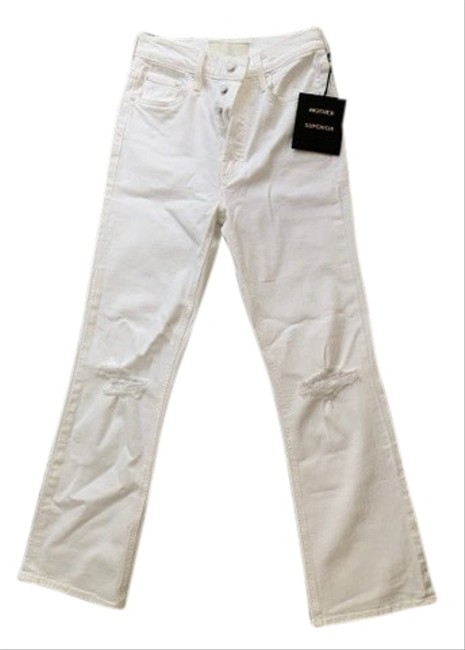 Preload https://img-static.tradesy.com/item/26241655/mother-white-the-tripper-relaxed-fit-jeans-size-0-xs-25-0-1-650-650.jpg