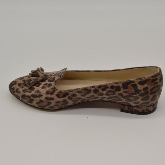 Zapato Panterka Leopard Tassels Leather Brown Flats Image 1