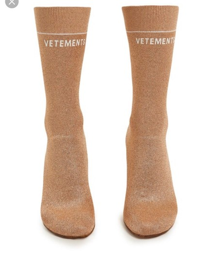Vetements Rose Gold Boots Image 2