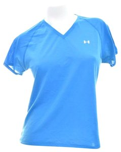 Under Armour Under Armour Sport Top V Neck Blue Size Large