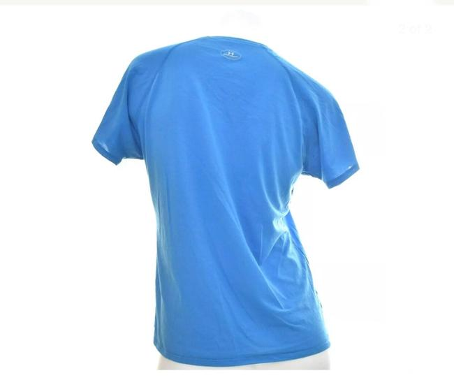 Under Armour Under Armour Sport Top V Neck Blue Size Large Image 1