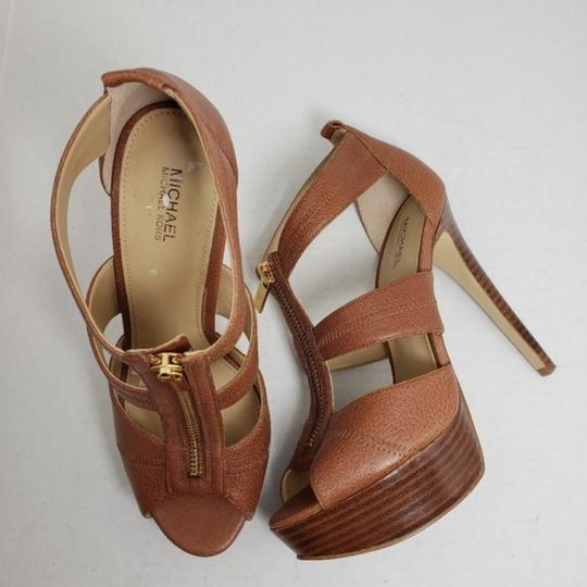 Michael Kors Brown Sandals Image 1