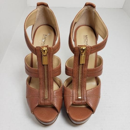 Michael Kors Brown Sandals Image 2