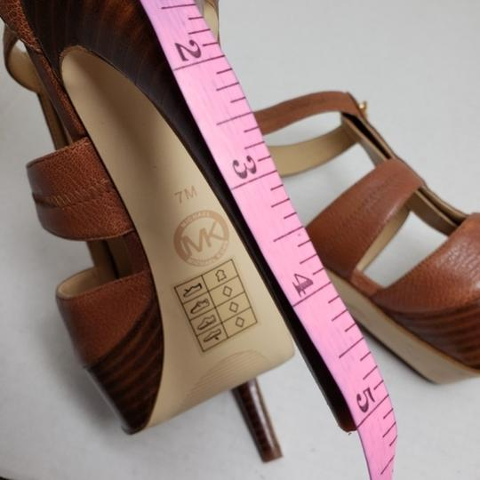 Michael Kors Brown Sandals Image 7