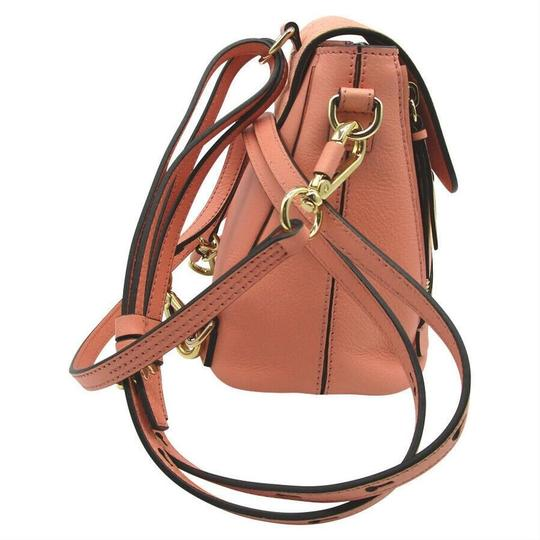 Chloé Faye Drew Mini Nile Peach Backpack Image 3