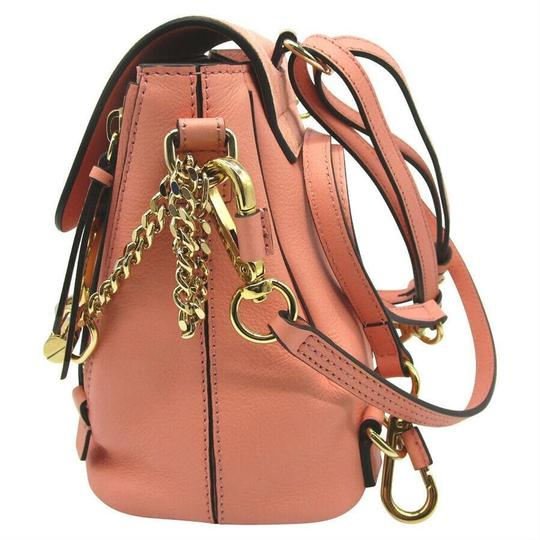 Chloé Faye Drew Mini Nile Peach Backpack Image 4