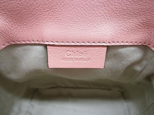 Chloé Faye Drew Mini Nile Peach Backpack Image 9