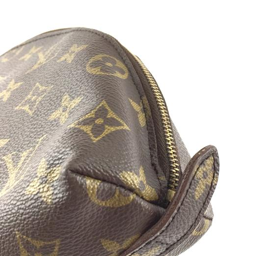 Louis Vuitton Pouch Cosmetic Monogram Pochette brown Clutch Image 10