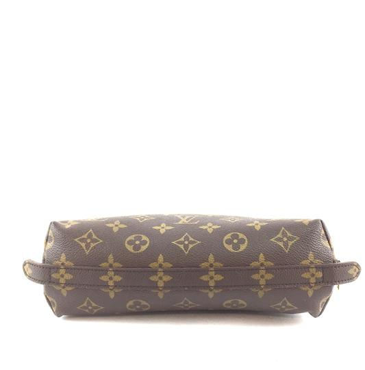 Louis Vuitton Pouch Cosmetic Monogram Pochette brown Clutch Image 3