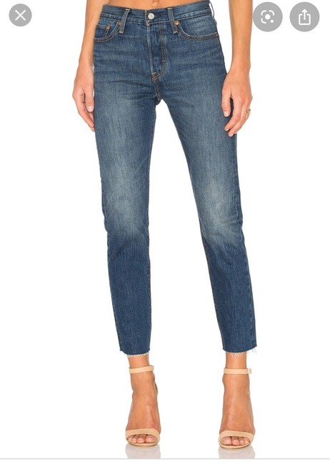Levi's Skinny Jeans-Medium Wash Image 5