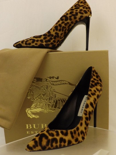 Burberry Brown Pumps Image 4