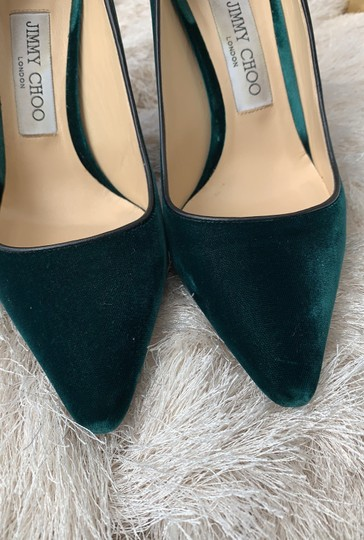 Jimmy Choo Green Pumps Image 1