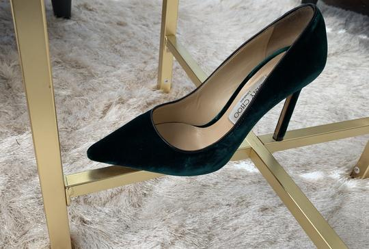 Jimmy Choo Green Pumps Image 10
