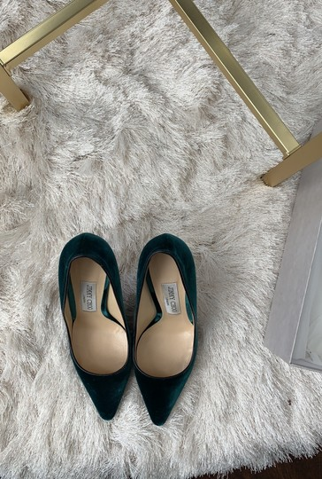 Jimmy Choo Green Pumps Image 2