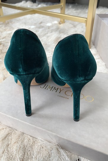 Jimmy Choo Green Pumps Image 3