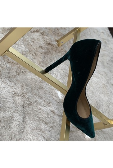 Jimmy Choo Green Pumps Image 9