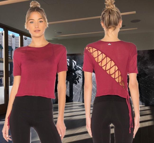 Preload https://item2.tradesy.com/images/alo-red-velvet-yoga-entwine-sleeve-activewear-top-size-6-s-26242006-0-2.jpg?width=400&height=650
