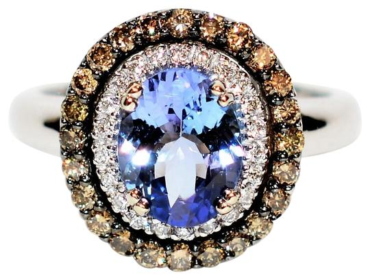 Preload https://img-static.tradesy.com/item/26242041/le-vian-blueberry-220tcw-certified-tanzanite-and-diamond-14kt-white-gold-ring-0-1-540-540.jpg
