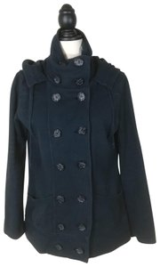 Lucky Brand Hooded Pea Coat
