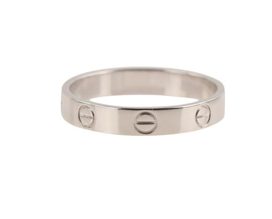 Cartier White Gold Love Wedding Band Image 1