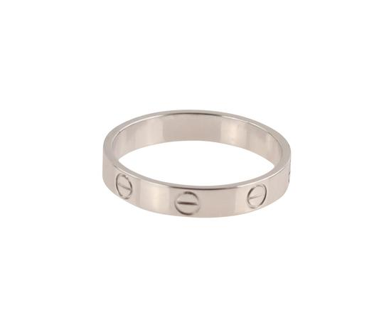 Cartier White Gold Love Wedding Band Image 2