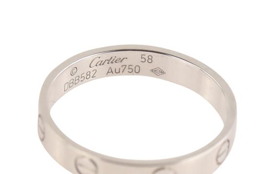 Cartier White Gold Love Wedding Band Image 5
