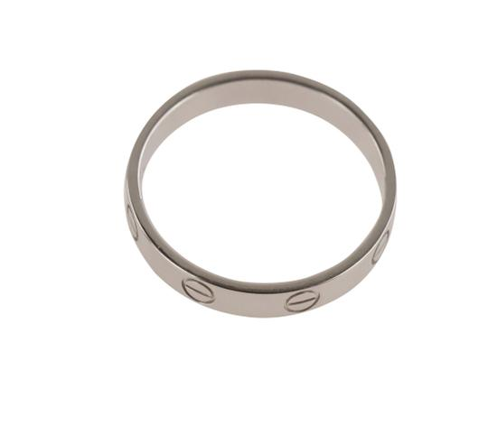 Cartier White Gold Love Wedding Band Image 7