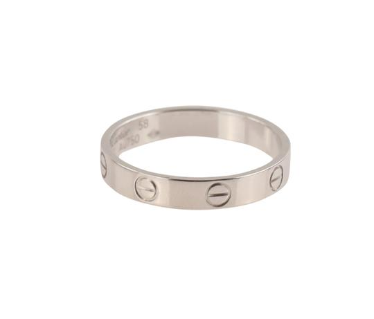 Cartier White Gold Love Wedding Band Image 9
