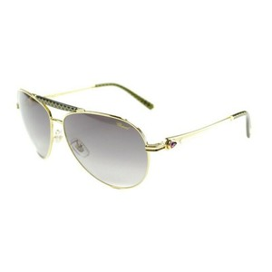 Chopard Green Gradient Lens SCH870S 300 Aviator Women's Sunglasses
