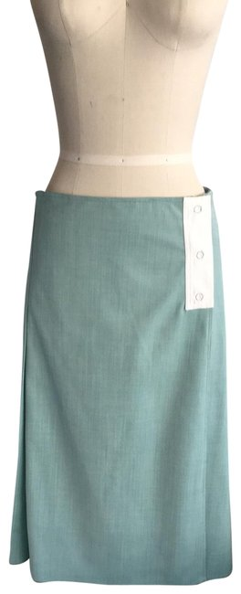 Preload https://img-static.tradesy.com/item/26242138/victoria-beckham-mint-pleated-back-pocket-detail-skirt-size-6-s-28-0-1-650-650.jpg