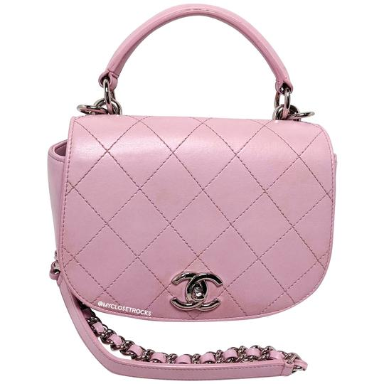 Preload https://img-static.tradesy.com/item/26242150/chanel-shoulder-pink-leather-cross-body-bag-0-3-540-540.jpg