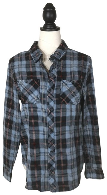 Preload https://img-static.tradesy.com/item/26242186/junk-food-rock-by-plaid-shirt-s-new-button-down-top-size-6-s-0-1-650-650.jpg