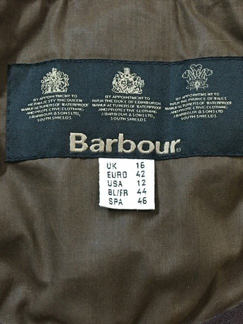 Barbour Tan Suede Touch Sherpa Shearling Jacket Image 4