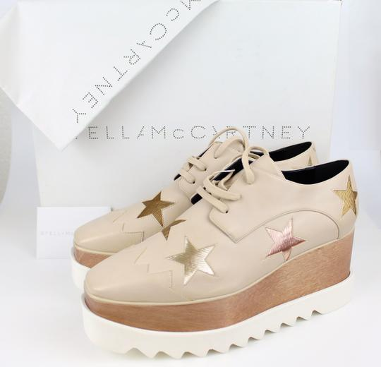 Stella McCartney Elyse Star Faux Leather Non-animal Date Night Hollywood Nude Platforms Image 1