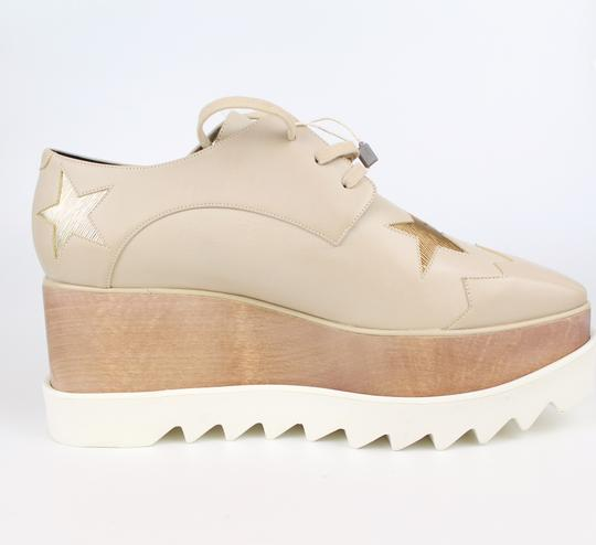 Stella McCartney Elyse Star Faux Leather Non-animal Date Night Hollywood Nude Platforms Image 3