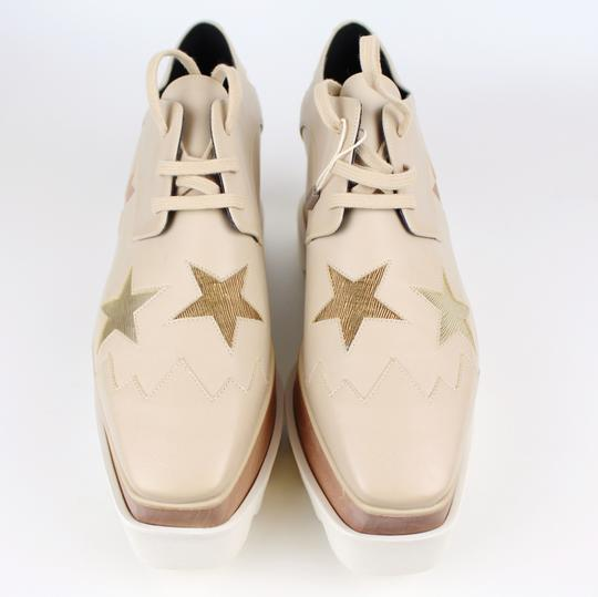 Stella McCartney Elyse Star Faux Leather Non-animal Date Night Hollywood Nude Platforms Image 4