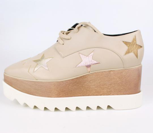 Stella McCartney Elyse Star Faux Leather Non-animal Date Night Hollywood Nude Platforms Image 5