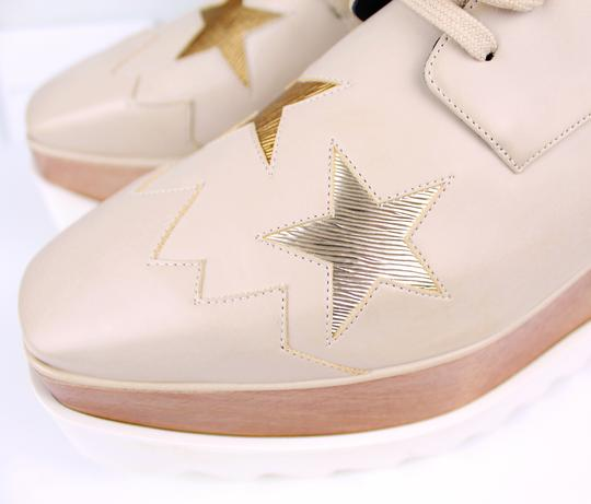 Stella McCartney Elyse Star Faux Leather Non-animal Date Night Hollywood Nude Platforms Image 6