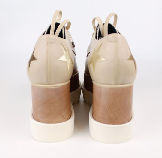 Stella McCartney Elyse Star Faux Leather Non-animal Date Night Hollywood Nude Platforms Image 7