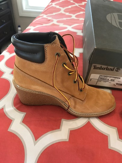 Timberland camel Boots Image 2